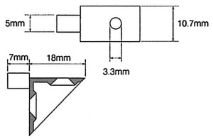 P85_Angled_Shelf_Support_Drawing