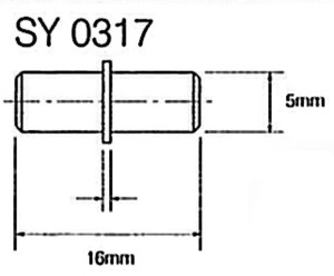 P85_Shelf_Support_Metal_SY0317_Drawing