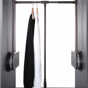 Pull down clothes rail