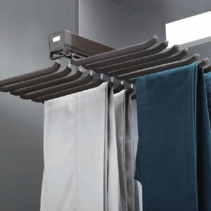 Trouser rail double row