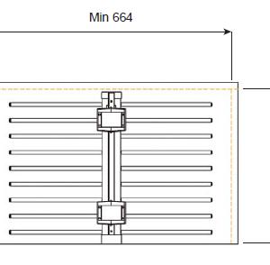 trouser rail double rail dims 2